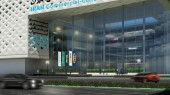 طراحی مجتمع تجاری فرهنگی یافتآباد - طرح سه بعدی