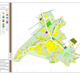 طرح هادی روستای پلنگآباد علیا - کاربری اراضی پیشنهادی
