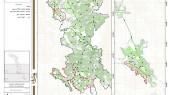 طرح بهسازی و نوسازی بافت فرسوده مسجد سلیمان - نقشه جهت شیب