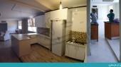 بازسازی ساختمان مهرشهر کرج - ورودی و کابینت