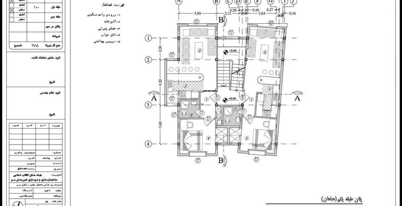 نمای واحد معماری کوچک