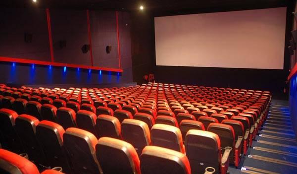 سالن سینما در پردیس سینمایی