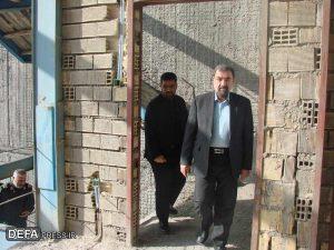 بازدید دکتر رضایی از مرکز فرهنگی شهرکرد