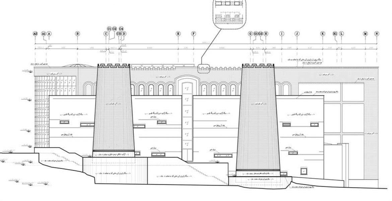نقشه نما مرکز فرهنگی خرم آباد