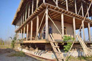 ساخت اقامتگاه بومگردی گیلان