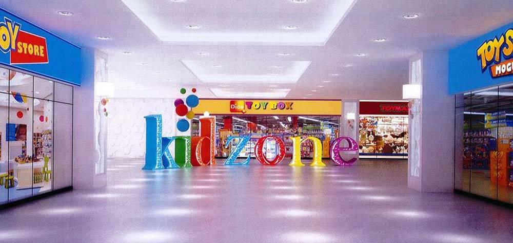 فضای بازی کودک در مجتمع تجاری