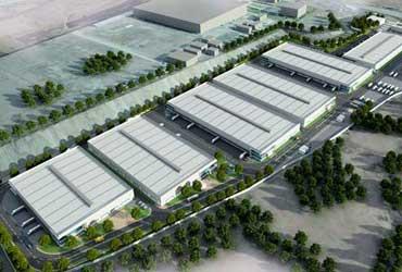 طراحی شهرک صنعتی