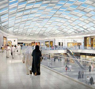 طراحی مجتمع تجاری شهر جشنواره دوحه