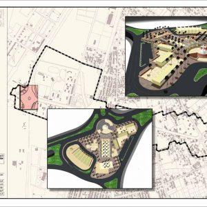 طراحی شهری خیابان امام بم