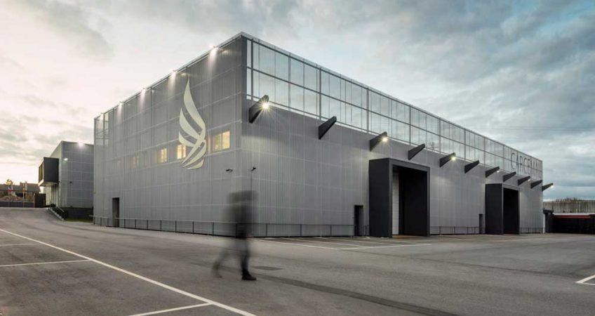 معماری ساختمان صنعتی