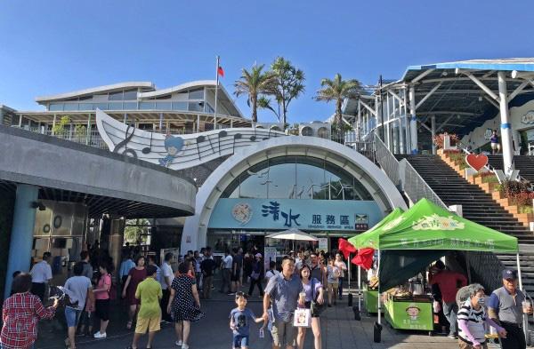 مجتمع خدمات بین راهی کینگ شویی تایوان