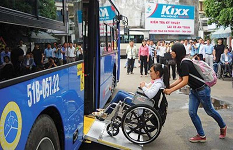 حمل و نقل عمومی در شهر برای توانیاب ها