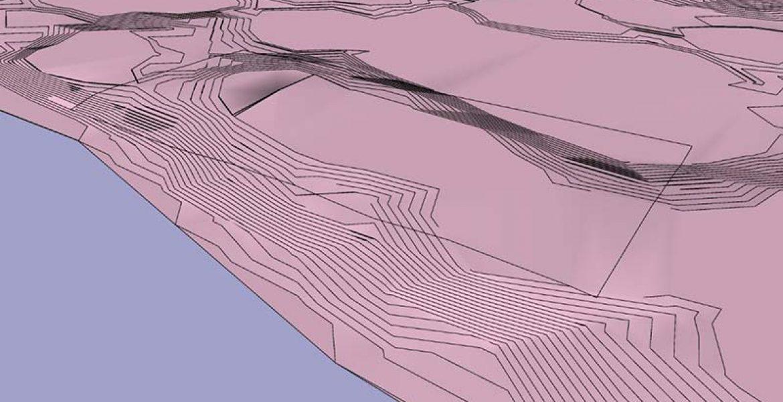 بررسی توپوگرافی زمین در طرح توجیهی